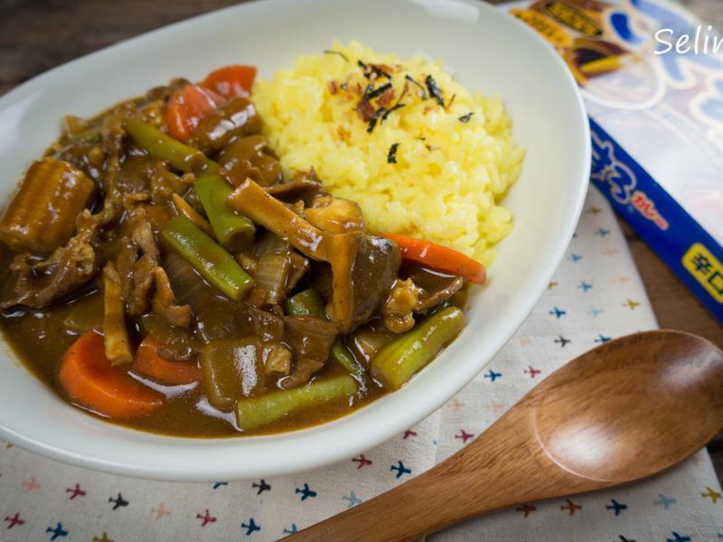 彩米羊肉咖哩飯@Selina Wu