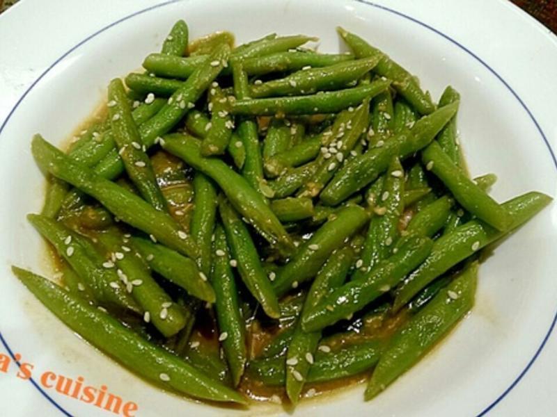 味噌四季豆