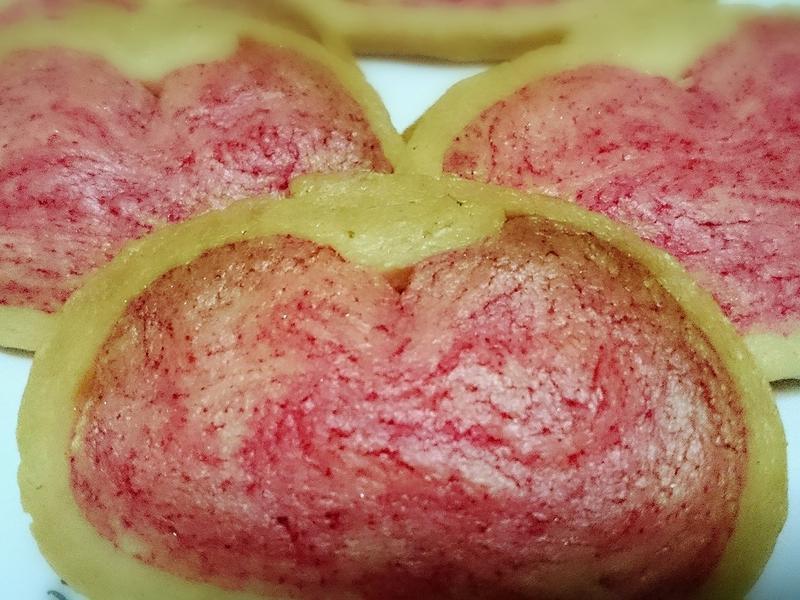 愛心餅乾(水波爐料理)