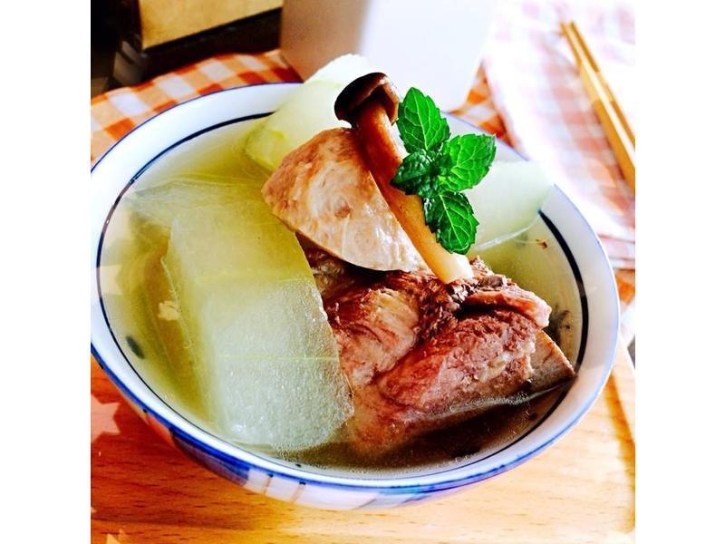 冬瓜排骨丸子湯