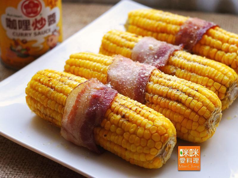 Mimi♥中秋烤玉米-牛頭牌咖哩新食代