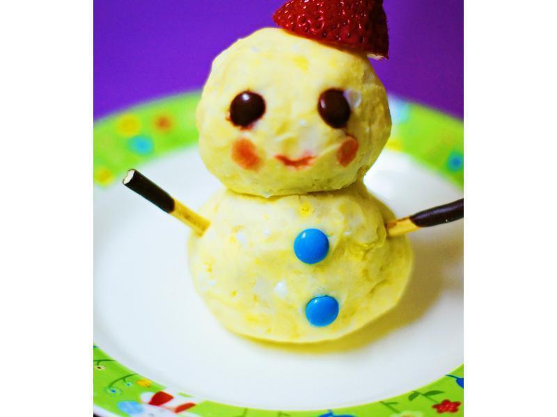 馬鈴薯雪人~滿分早點X桂冠沙拉