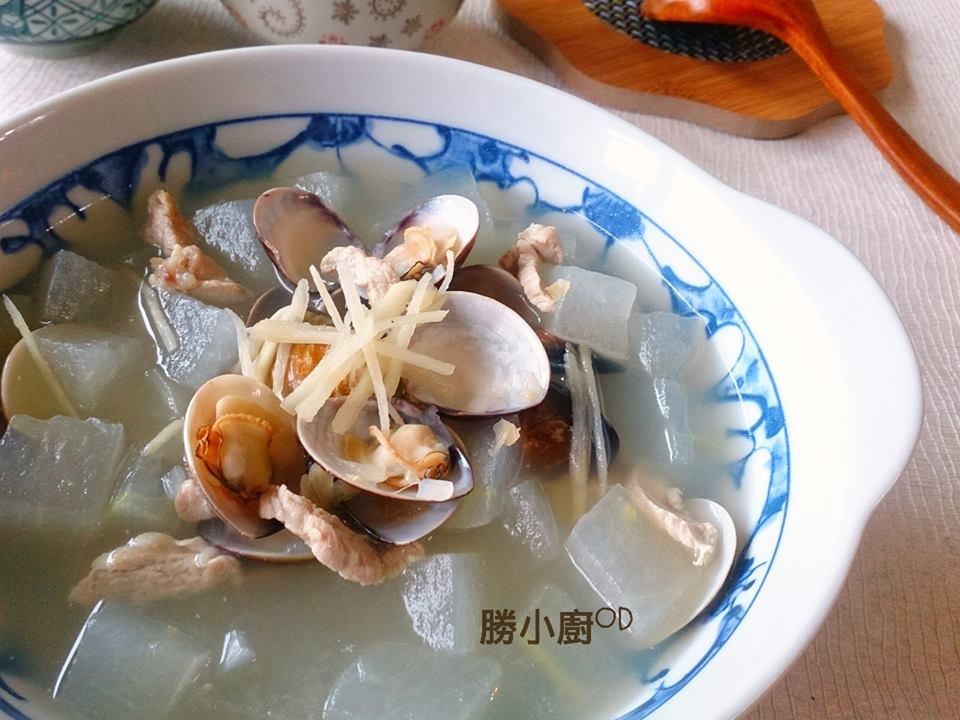 肉絲蛤蜊冬瓜湯