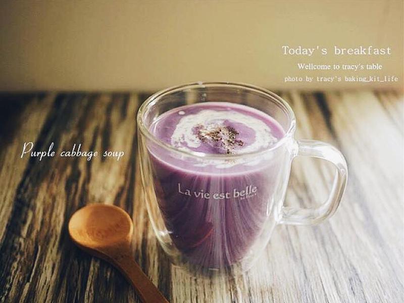 浪漫的料理-紫甘藍濃湯