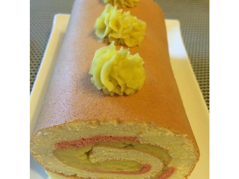 地瓜蛋糕捲(地瓜瑞士捲)