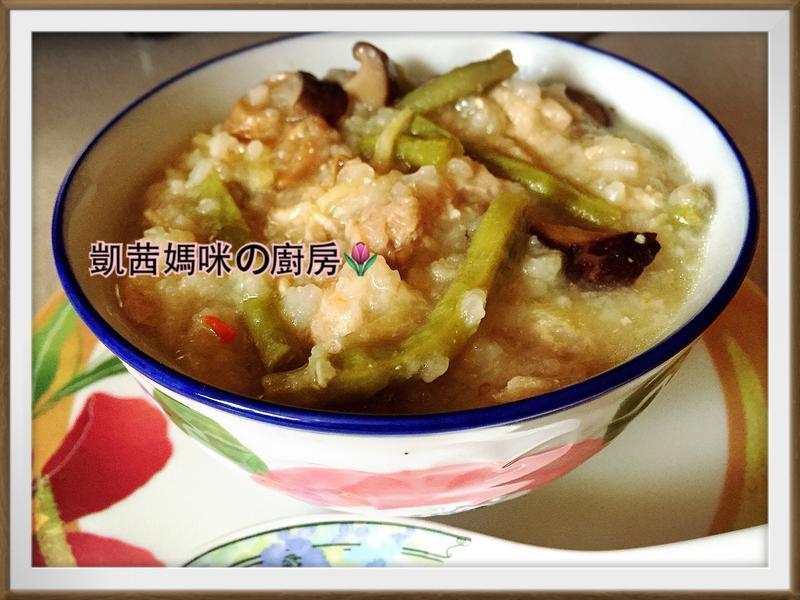 私房菜:豇豆鹹粥
