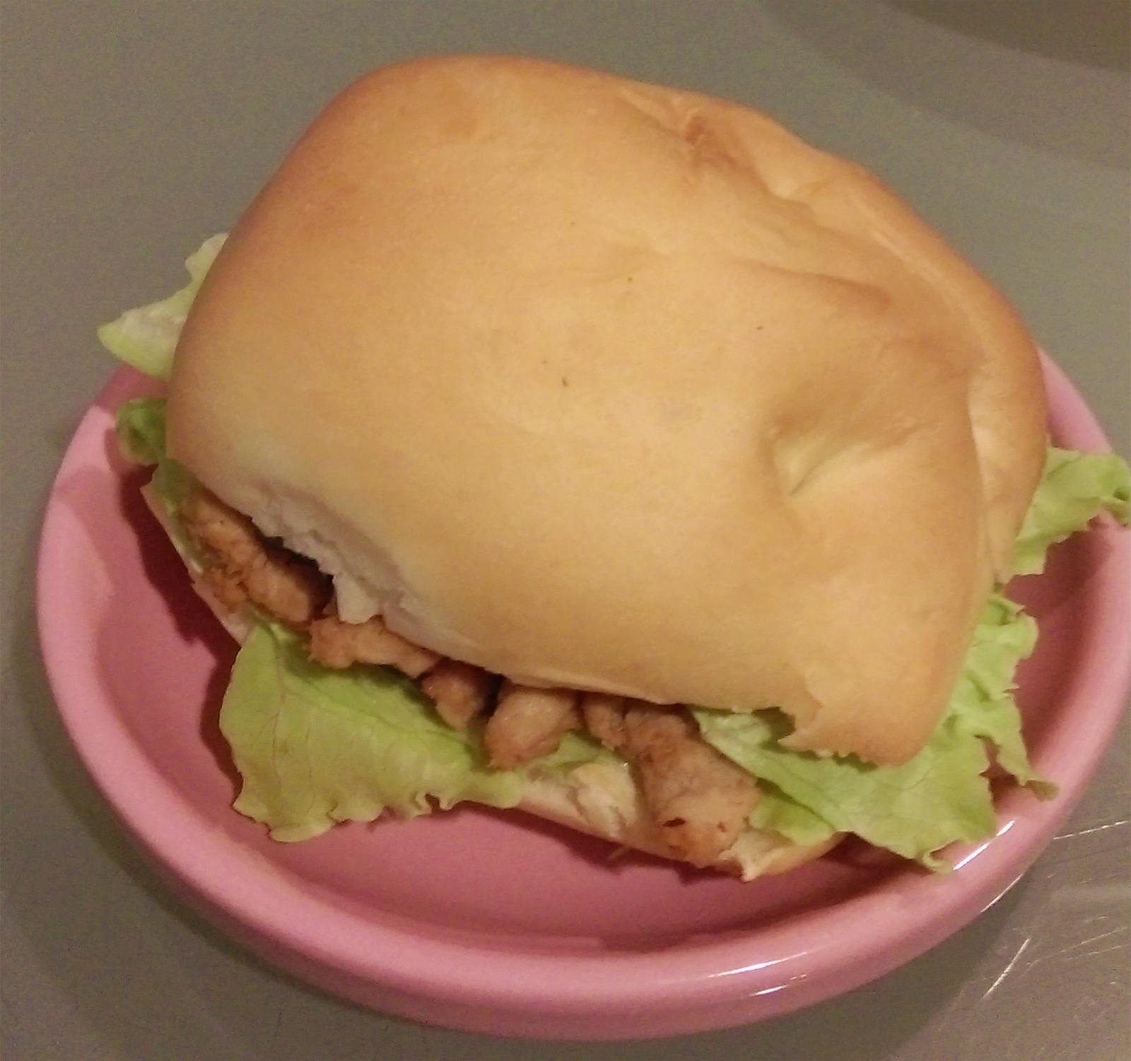 洋葱豬柳小漢堡
