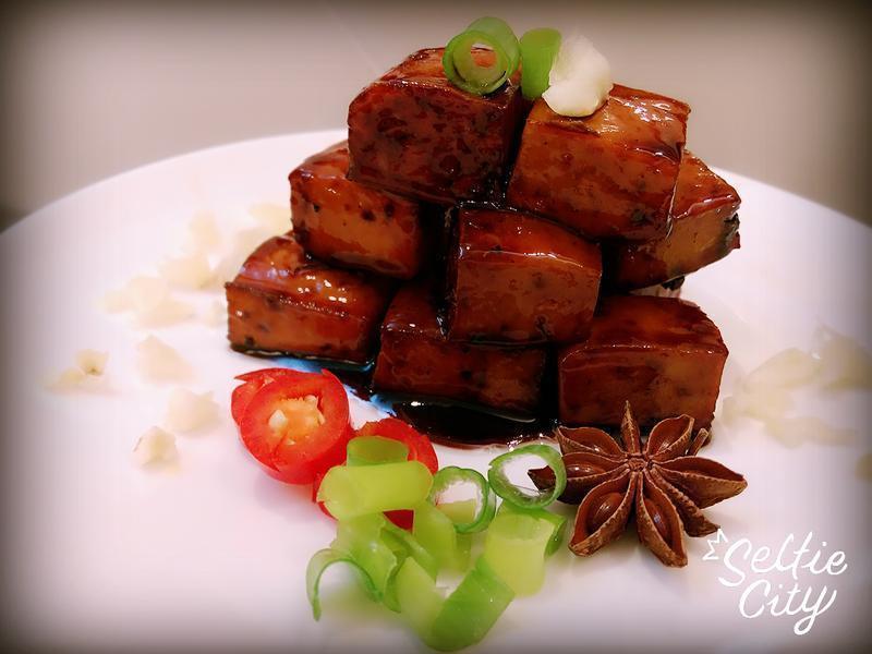 蜜の醬燒滷豆干…