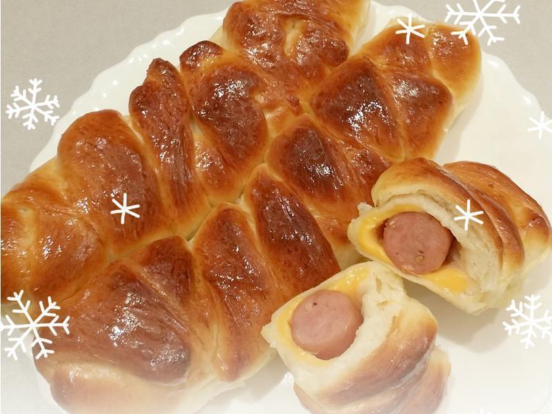 德式香腸起司捲麵包