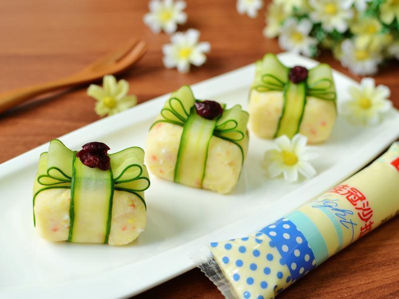 小禮物馬鈴薯蛋沙拉【滿分早點×桂冠沙拉】