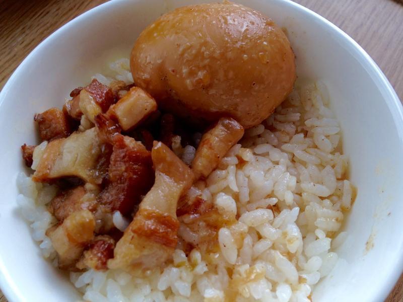 滷肉飯(豬五花)