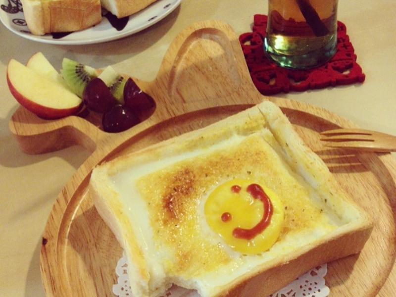 【小李子❤料理食堂】充滿陽光的太陽蛋厚片