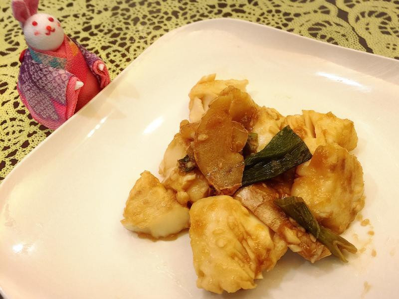 蔥燒醋溜魚片
