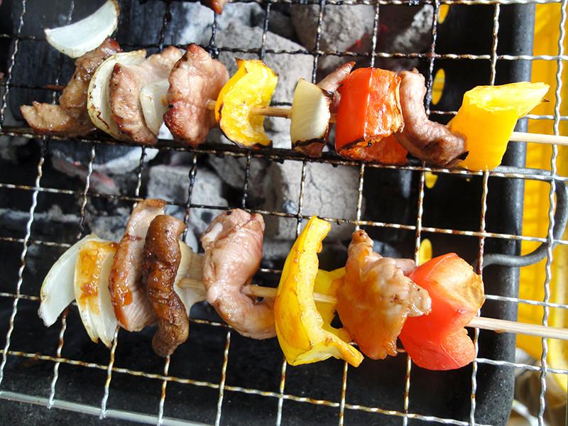 有心中秋烤肉:櫻桃鴨肉串