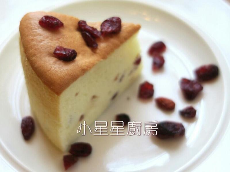 蔓越莓棉花蛋糕☆酸酸甜甜有果粒