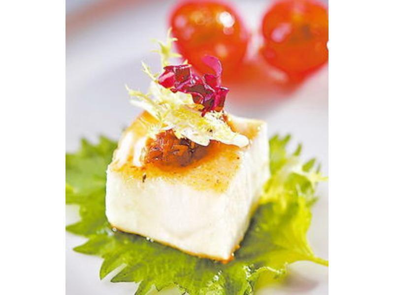 紫蘇鱈魚桂花釀番茄