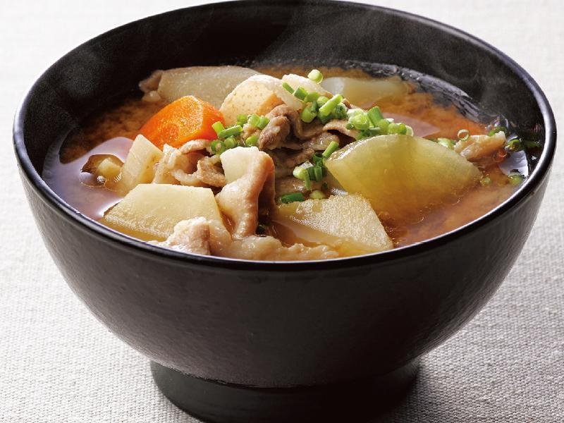 東販小食堂:基礎和食 豬肉蔬菜味噌湯