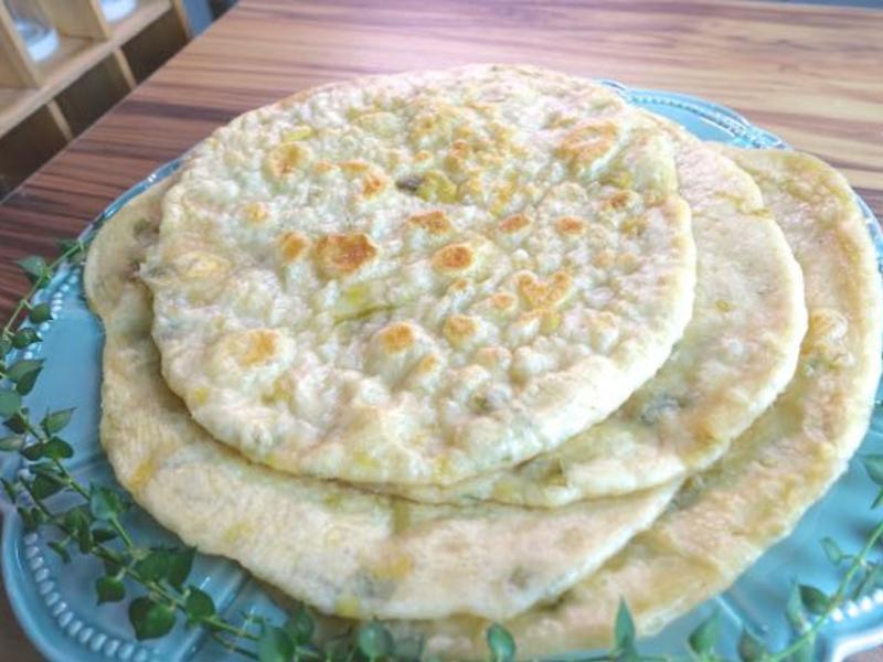 蔥油軟餅 蔥油餅 中式點心