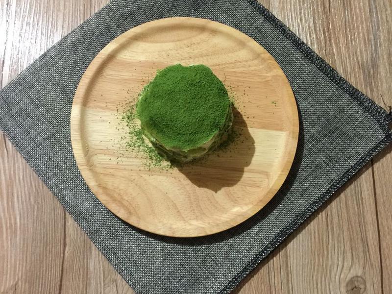 史上最小超迷你法式抹茶千層蛋糕