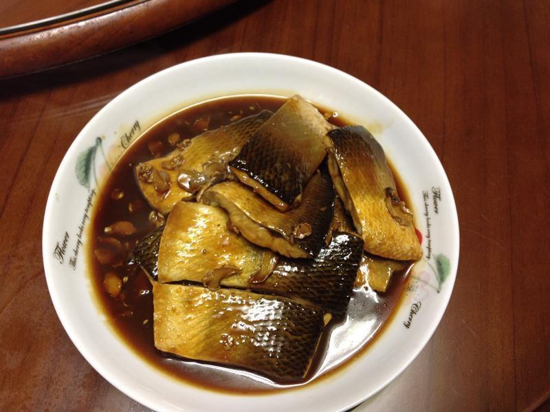 麻油燒虱目魚