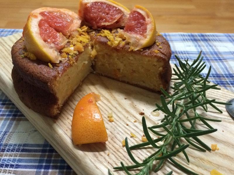 南非葡萄柚蛋糕