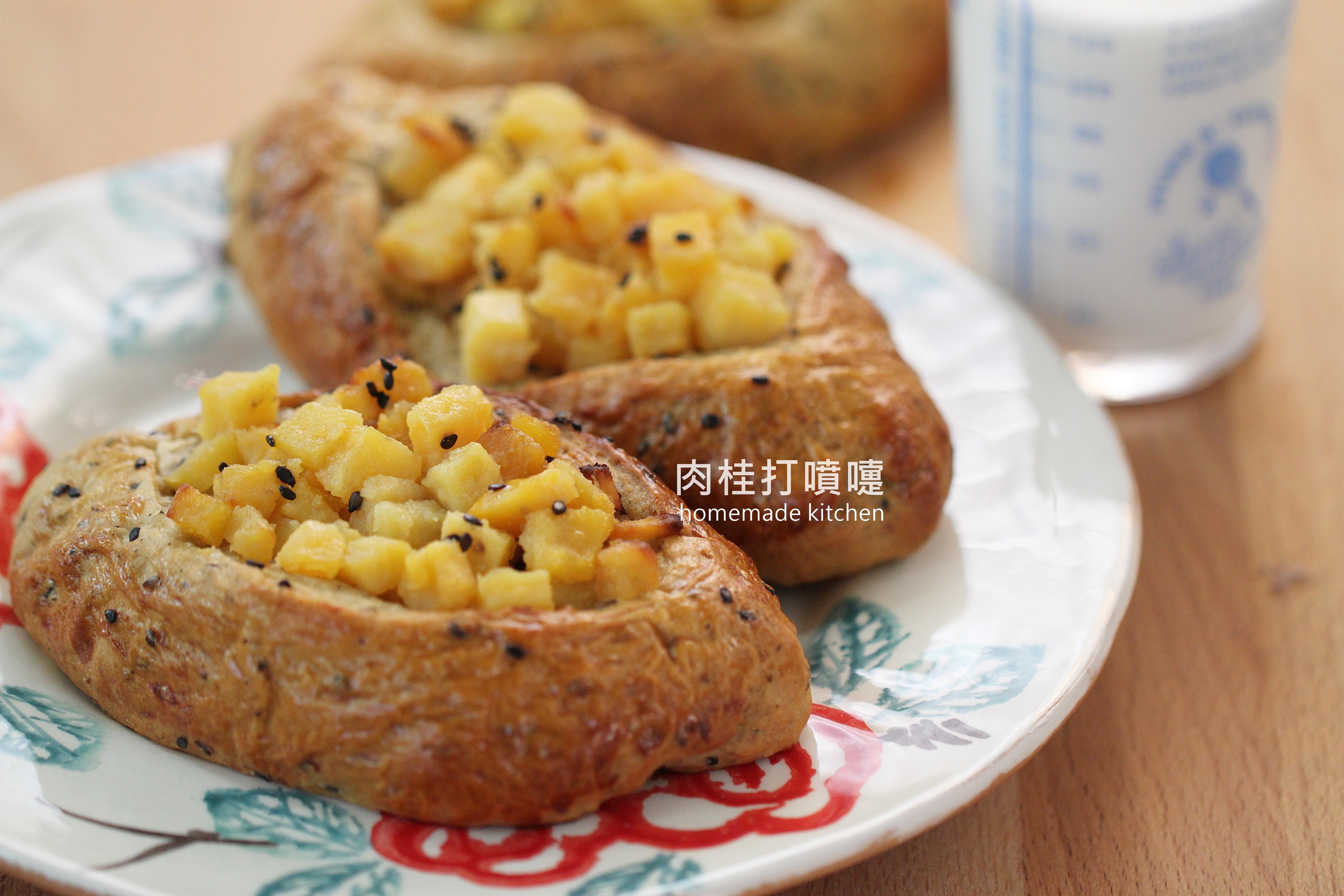地瓜蜂蜜甜心麵包