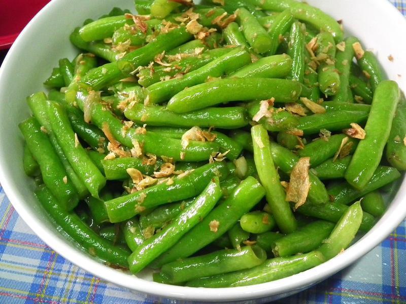 脆炒四季豆