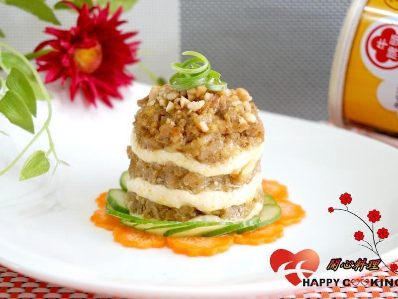 電鍋~肉末豆腐塔『牛頭牌咖哩新食代』