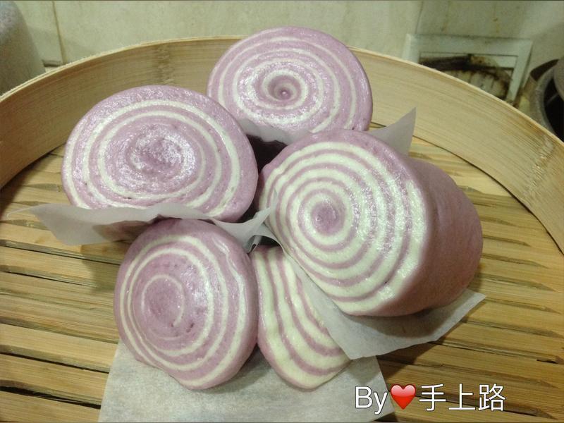 🍠紫薯年輪饅頭🍠