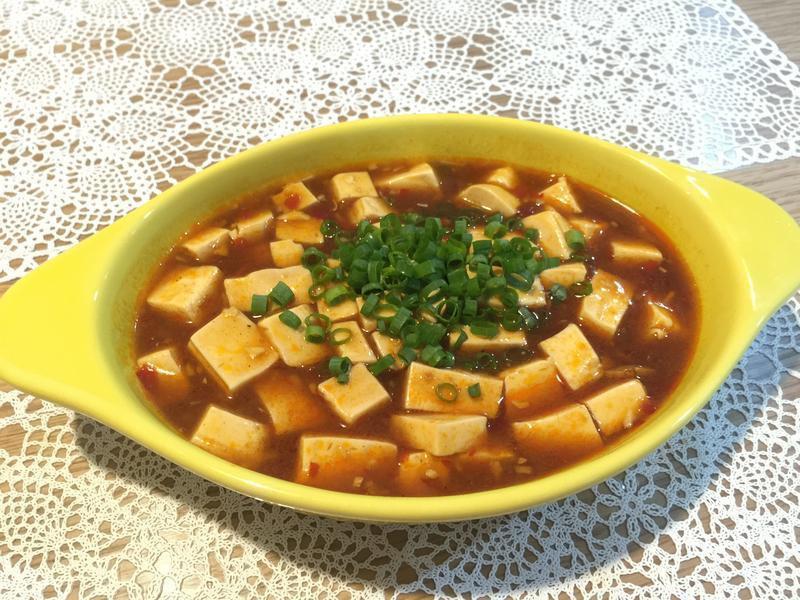 麻婆豆腐(無肉版)