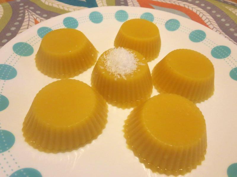 南瓜椰汁糕