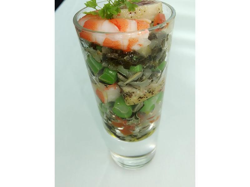 海鮮野米沙拉
