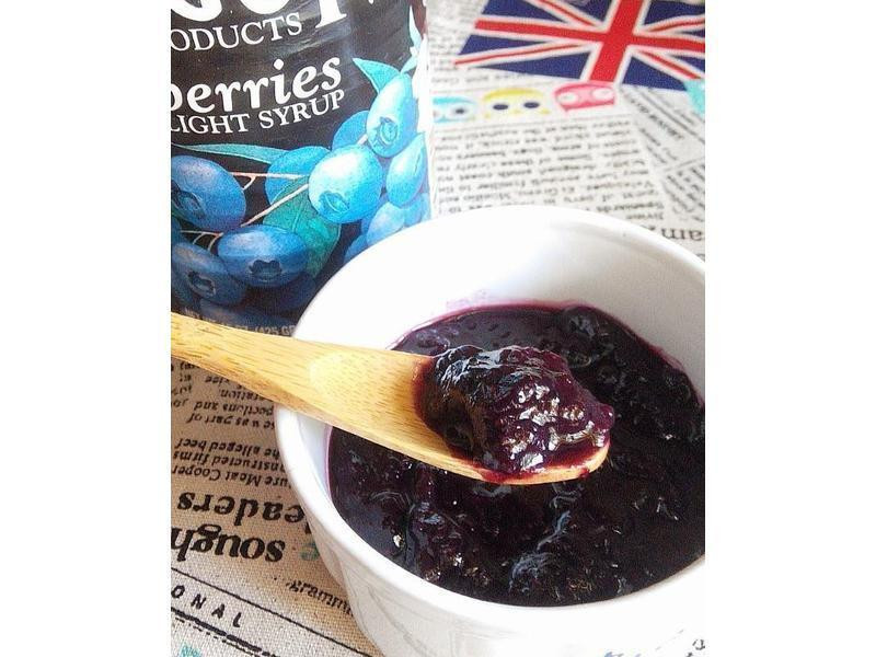 超簡單藍莓果醬