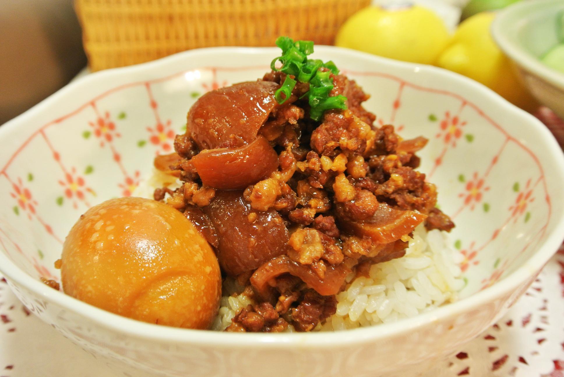 台灣小吃滷肉飯【味道福爾摩莎】