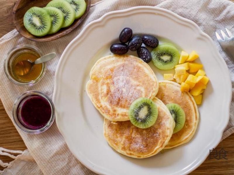 蜂蜜水果鬆餅|台東良食計畫
