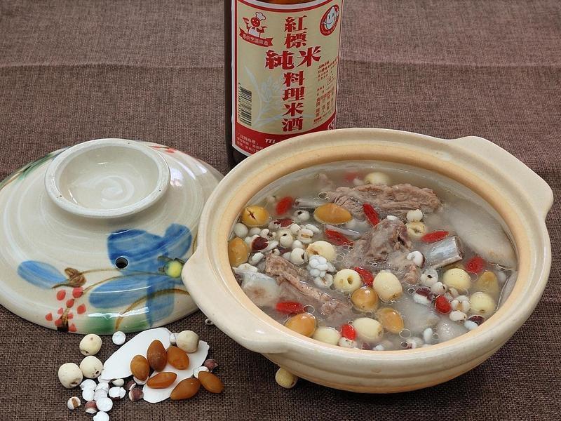 四神排骨湯【台灣菸酒純米料理米酒】