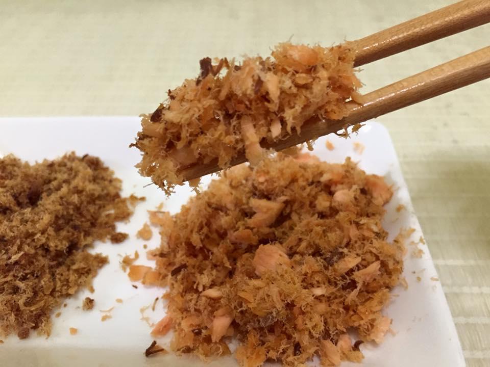 老木的★☆乾炒旗魚/鮭魚鬆★(不銹鋼鍋)