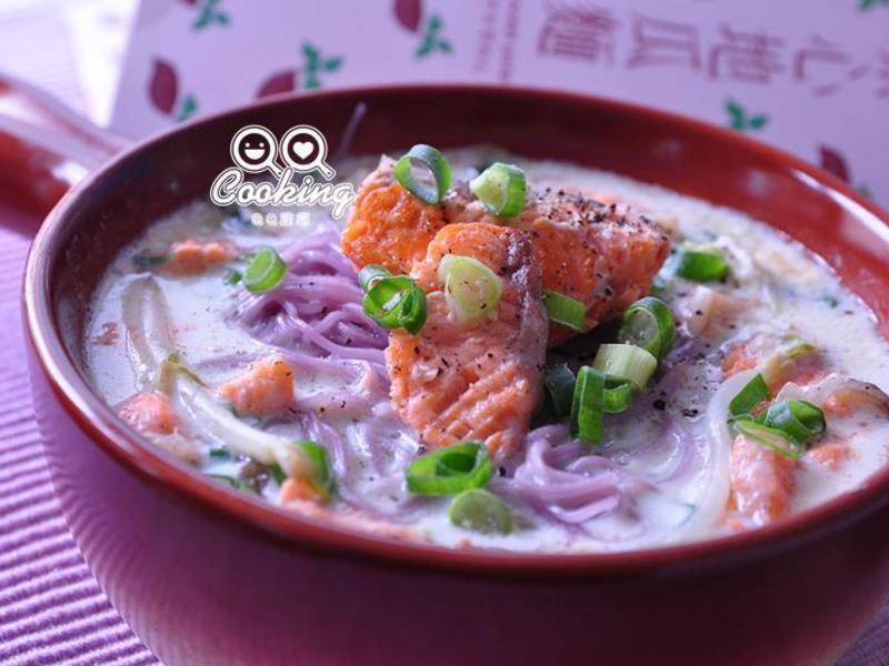 香鮭白漿紫心地瓜麵【呷好麵】