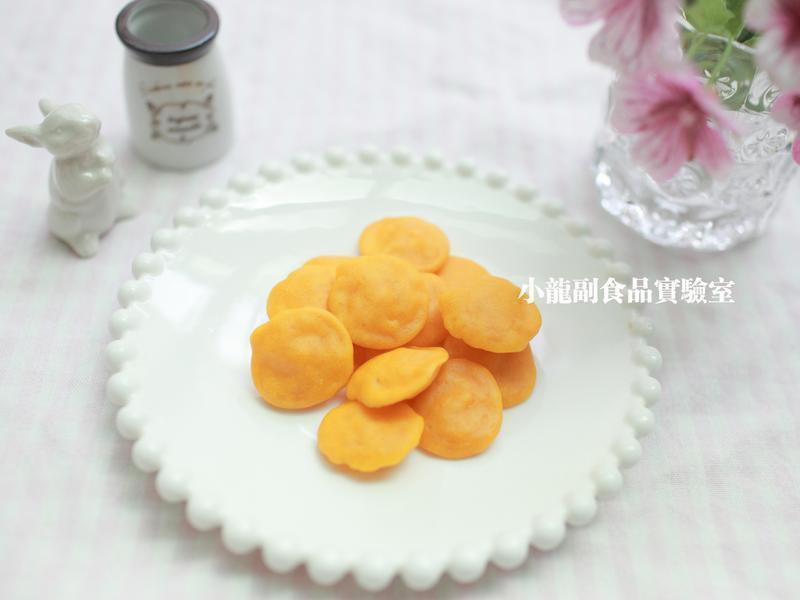 寶寶食譜【一口南瓜小鬆餅】