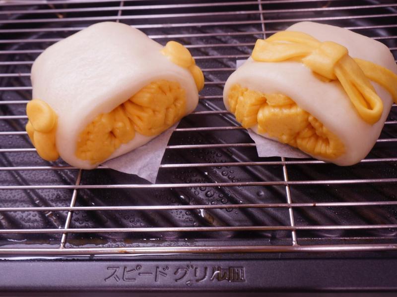 紅蘿蔔銀絲卷饅頭 {電動威歐壓麵機}
