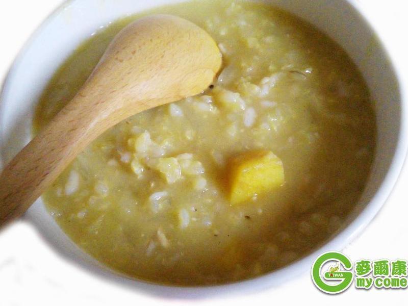 養生咖哩燕麥燴飯
