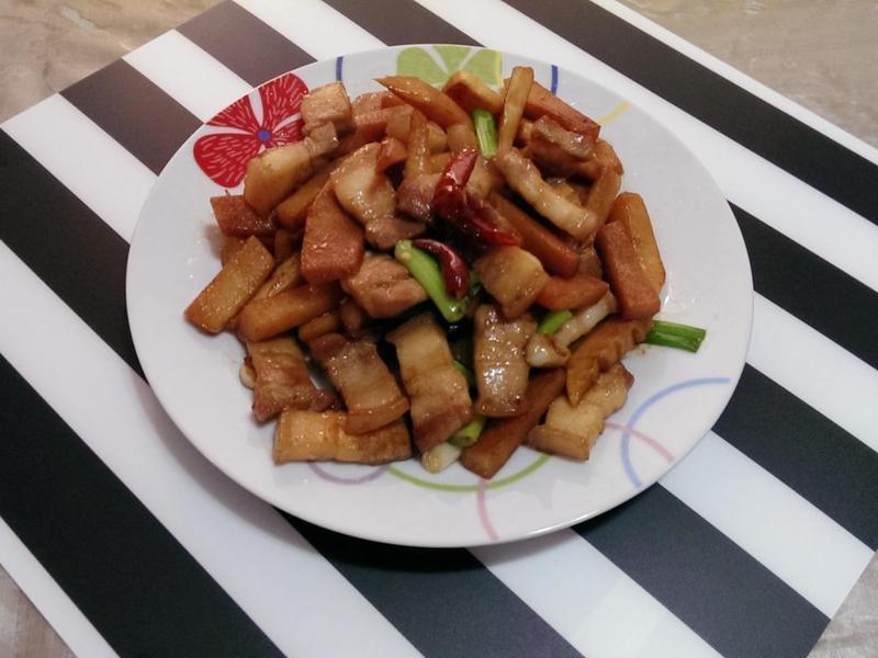 竹筍炒五花肉