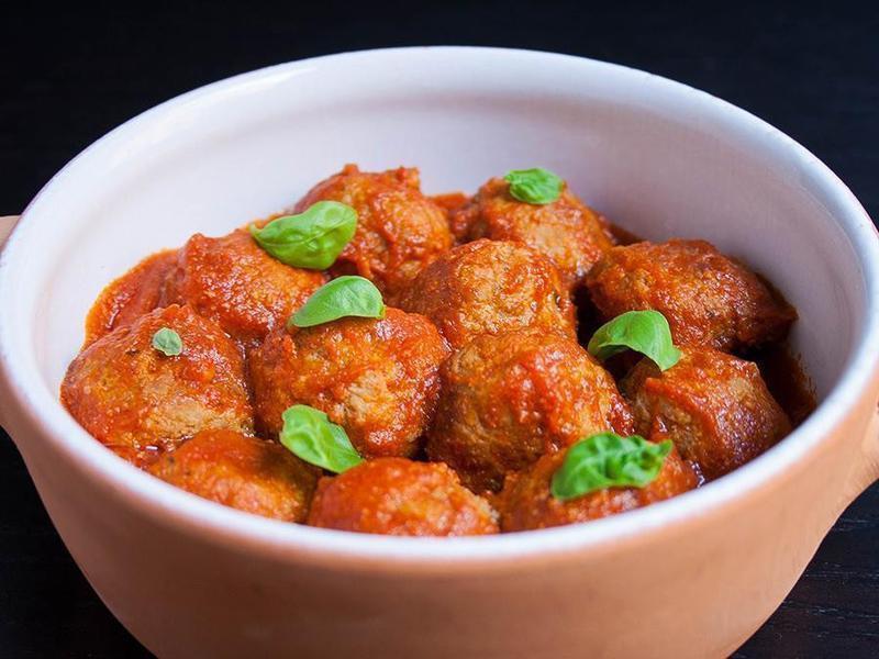經典!義大利蕃茄肉丸