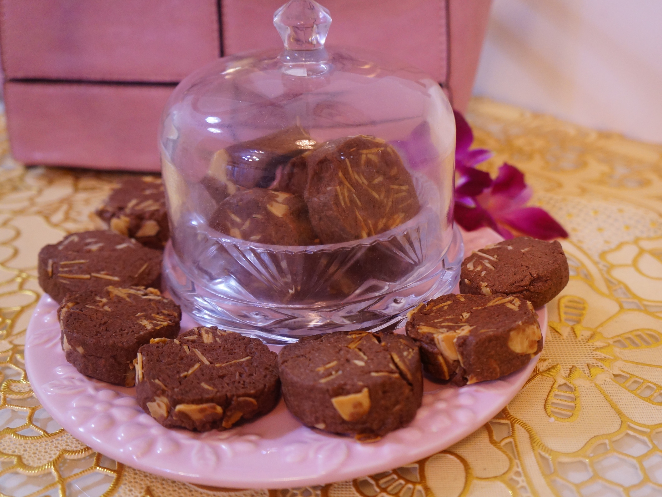 手做巧克力杏仁餅乾