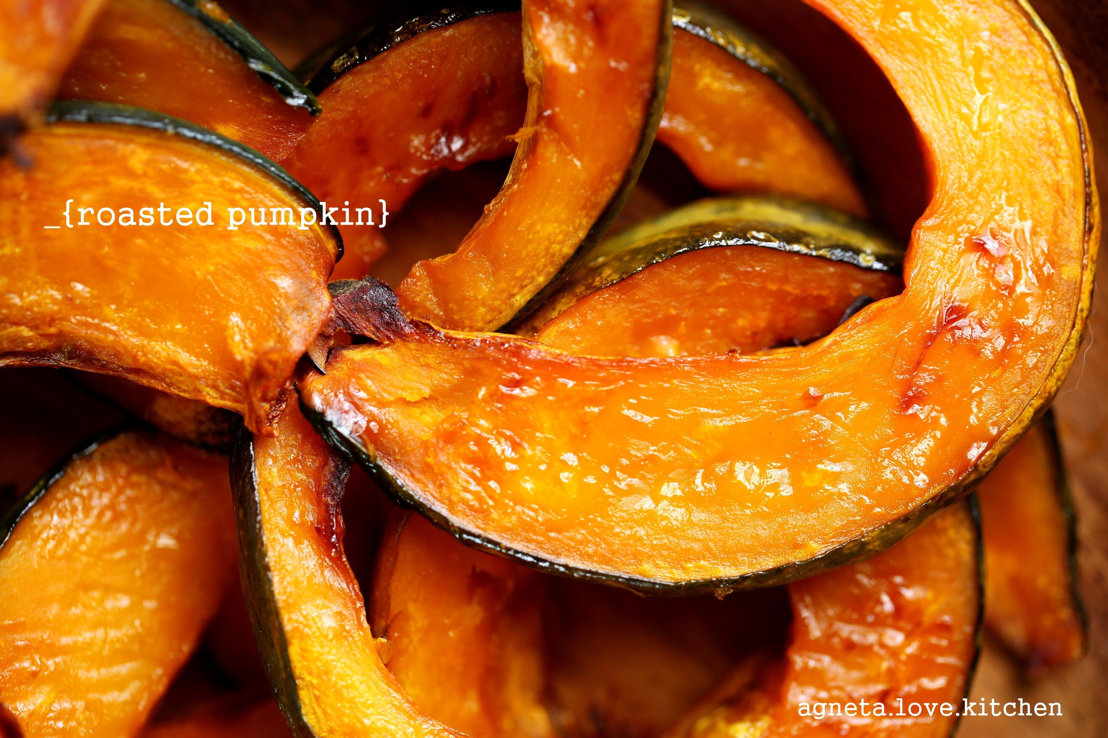 [sweet] 自然系零食,烤栗南瓜。