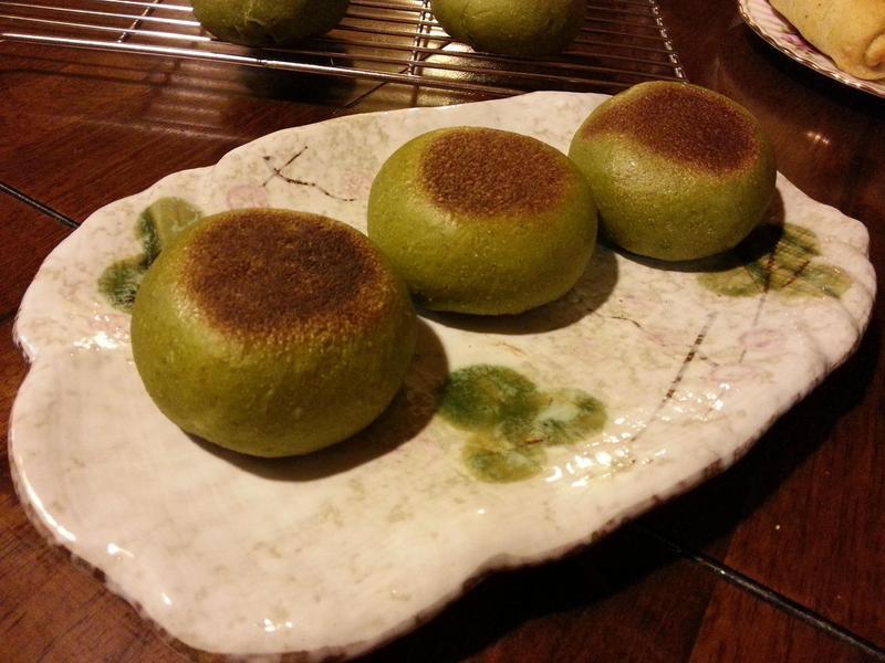翡翠芝心-天然酵母平底鍋麵包