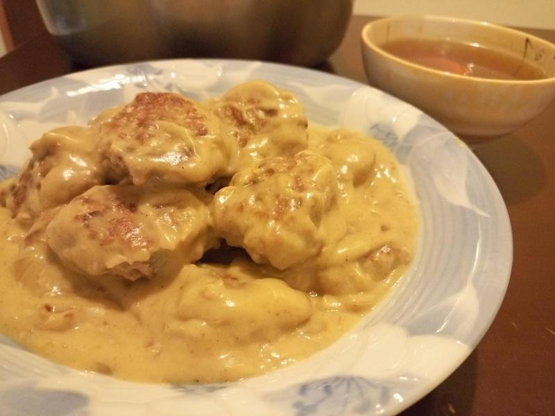 咖喱豬肉餅