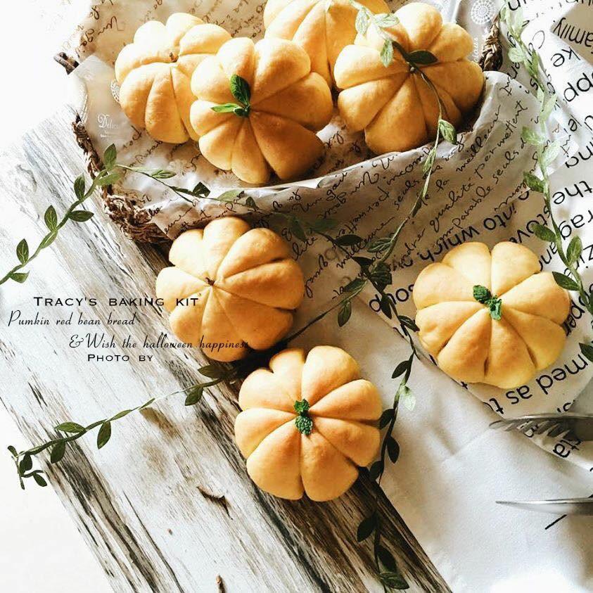 不搞怪的萬聖節-超Q鬆軟南瓜小麵包