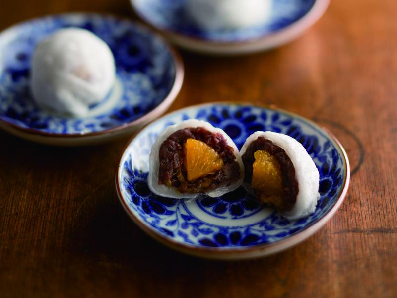 《笠原家的日式懷舊甜點》橘香大福