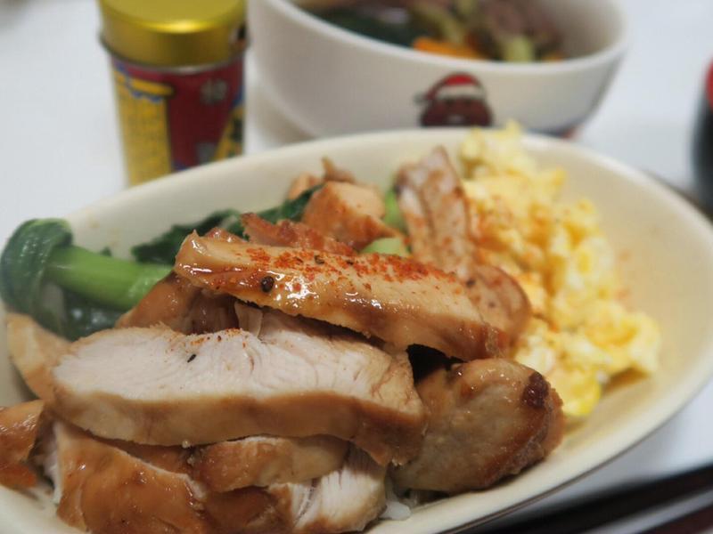 雞胸肉照り焼き飯